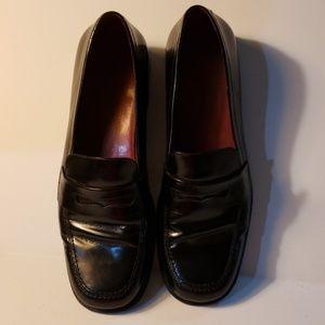 Ralph Lauren Lauren black penny loafer